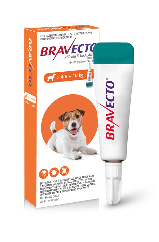 Bravecto Spot-On Dog 4.5-10kg Small